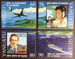 Vanuatu 1996 Radio Centenary Aircraft MNH - Vanuatu (1980-...)