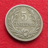 Uruguay 5 Centesimos 1909 - Uruguay