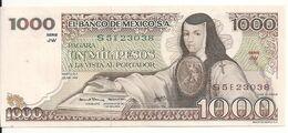 MEXIQUE 1000 PESOS 1979 AUNC P 70 C - Mexique