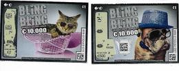 2 BILLETS DE LOTERIE / BLING BLING - Billets De Loterie
