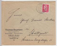 (B1408) Bedarfsbrief DR, Stempel Saulgau 1930 - Deutschland