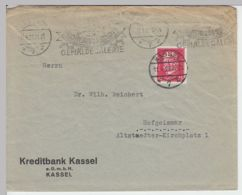 (B1346) Bedarfsbrief DR, Kreditbank Kassel, 1929 - Deutschland