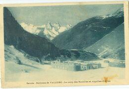 Valloire (environs); Le Camp Des Rochilles Et Aiguilles D'Arves - Non Voyagé. (A. Mollaret - Grenoble) - Saint Michel De Maurienne