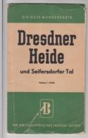 (D1236) Landkarte Dresdner Heide U. Seifersdorfer Tal 1:25000 DDR - Carte Geographique