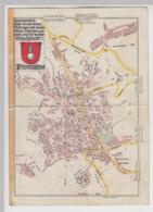 (D1234) Pirmasens, Landkarte Wanderkarte 15x21 Cm, Gefaltet Vor 1945 - Carte Geographique