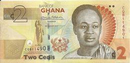 GHANA 2 CEDIS 2017 UNC P 37A E - Ghana