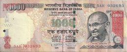 INDE 1000 RUPEES 2011 VF P 107 - India