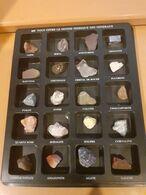 CG20 - COLLECTION DES MINERAUX OFFERTS PAR ELF - Minéraux & Fossiles