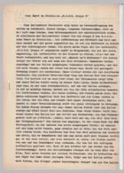 (D643) Ballonfahrt, 2-seit. Bericht ü. Fahrt Ab Bitterfeld, Schreibmaschine 1930er - Altri