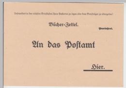 """(D626) Bücherzettel Zeitschrift """"Thüringer Geflügelzüchter"""" Meuselwitz, Nach 1945 - Altri"""