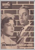 """(D571) Filmprogramm """"Ein Mann Geht Durch Die Wand"""" 1960 - Altri"""