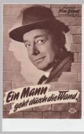 """(D570) Filmprogramm """"Ein Mann Geht Durch Die Wand"""" 1959 - Altri"""