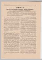 """(D504) 12x Original Zeitungsartikel Aus """"Luftwissen"""" 1936 - Altri"""