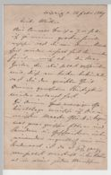 (D464) Brief Aus Leipzig 1869, 4 Seiten - Altri