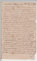 (D463) Brief Aus Merseburg 1839 / 40, 4 Seiten - Altri