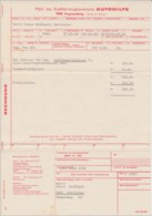 (D349) PGH Autohilfe Augustusburg, 5x Rechnung 1982-89 U.a. - Altri