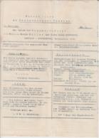 (D319) Schöneberger Courier, Extrablatt Leupzig - Leutzsch 1906 - Altri