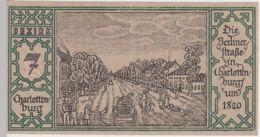 (D245) Notgeld Der Stadt Berlin 1921, 50 Pf., Bezirk 7 Charlottenburg - [ 3] 1918-1933 : República De Weimar