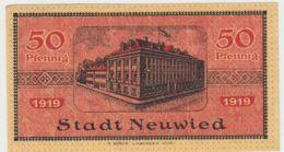 (D240) Notgeld Der Stadt Neuwied, 50 Pf., 1919 - [ 3] 1918-1933 : República De Weimar