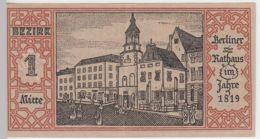 (D223) Notgeld Der Stadt Berlin 1921, 50 Pf., Bezirk 1 Mitte - [ 3] 1918-1933 : República De Weimar