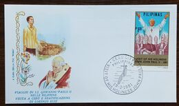 "Philippines - Cachet ""Visite Du Pape Jean Paul II"" - Cebu City - 19.2.1981 - Filipinas"