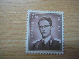 (02.08) BELGIE * 1958 Nr 1070  CW 32.75 - 1953-1972 Glasses