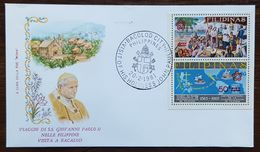 "Philippines - Cachet ""Visite Du Pape Jean Paul II"" - Bacolod City - 20.2.1981 - Filipinas"