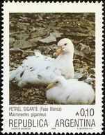 MDB-BK4-147-2 MINT ¤ ARGENTINA 1986 6w Uit Serie ¤  PINGUINS - OISEAUX - BIRDS - PAJAROS - VOGELS - VÖGEL - - Pingouins & Manchots