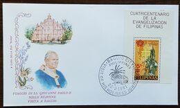"Philippines - Cachet ""Visite Du Pape Jean Paul II"" - Baguio City - 22.2.1981 - Filipinas"