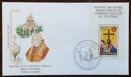 "Philippines - Cachet ""Visite Du Pape Jean Paul II"" - Iloilo City - 20.2.1981 - Filipinas"