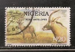 NIGERIA OBLITERE - Nigeria (1961-...)