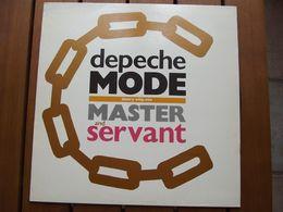 Depeche Mode – Master And Servant (Slavery Whip Mix) - 1984 - 45 Rpm - Maxi-Single