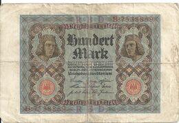 ALLEMAGNE 100 MARK 1920 VF P 69 - [ 3] 1918-1933 : República De Weimar