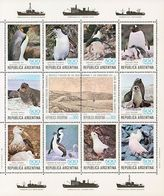 MDB-BK5-303 MVS MINT ¤ ARGENTINA 1980 12w In Block ¤ OISEAUX - BIRDS - PAJAROS - VOGELS - VÖGEL - - Pingouins & Manchots