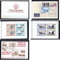 Gambie (gambia) 1983 - 200 Years Of Manned Flight (Booklet / Carnet) - Gambie (1965-...)