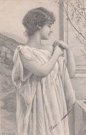 CPA  FEMME Style Antique  Signée RYLAND - Otros Ilustradores
