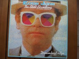 Elton John – I'm Still Standing (Extended Version) - 1985 - 45 Rpm - Maxi-Single