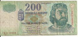 HONGRIE 200 FORINT 1998 VG+ P 178 - Hungary