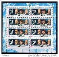 Sowjetunion/Russia 1985 Mi.5534 KB Weltraum Sawizkaja/Sc.5384a M/S Sojus T 12 **/MNH - 1923-1991 USSR