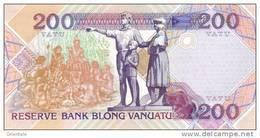 VANUATU  P. 8b 200 V 2009 UNC - Vanuatu