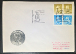 Spain, Circulated Cover, « King Juan Carlos », « Special Postmark », Santiago De Compostela, 1993 - 1931-Hoy: 2ª República - ... Juan Carlos I