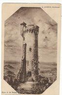 CPA ,D.23 , N°22 ,Toulx Sainte Croix ,la  Tour D' Orientation En Construction ,Ed. A. De Nussac ,1936 - Andere Gemeenten