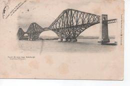 Forth  Bridge   Near  Edinburgh    -  Posted  1902 - Midlothian/ Edinburgh