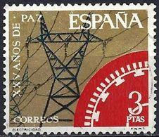 Spain 1964 - Mi 1465 - YT 1238 ( Electrification ) - 1931-Heute: 2. Rep. - ... Juan Carlos I