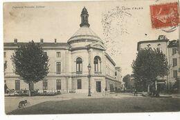 CPA, D.30, Alais ,Le Lycée  D'Alais , Ed.. Papeterie Nouvelle 1907 - Alès