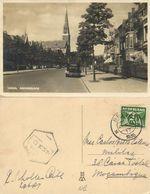 Nederland, BREDA, Baronielaan, Auto (1936) Ansichtkaart - Breda