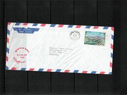 United Arab Emirates 1975 Interesting Airmail Letter - Dubai