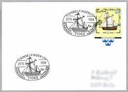 CORREO POSTAL Por El MAR BALTICO - Barco Postal HIORTEN. Sindelfingen 1998 - Post
