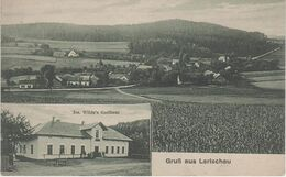 AK Larischau Larysov Wilde S Gasthof A Pickau Bykov Bransdorf Brantice Lobenstein Jägerndorf Krnov Freudenthal Bruntal - Sudeten