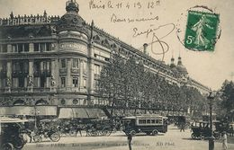 Grand Magasin Au Printemps à Paris  Autobus - Magasins